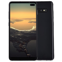 "China 6.4"" Full Screen HD+ Goophone S10+ V4 3G WCDMA Quad Core MTK6580 1GB 8GB Android 9.0 Ultrasonic Fingerprint Face ID GPS 3500mAh Smartphone cheap camera android suppliers"