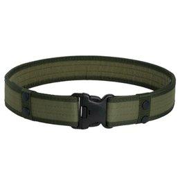 Tactical Protective Gear Australia - Useful camouflage tactical sponge EVA foam Belt Outdoor sports protective gear belt tactical belt Oxford cloth men's canvas #282632