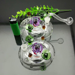 $enCountryForm.capitalKeyWord NZ - Classic Flower Bed Glass Art Wholesale Glass Water Pipes Tobacco Accessories Glass Ash Catcher