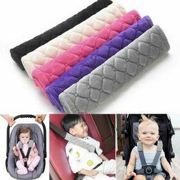 $enCountryForm.capitalKeyWord Australia - Baby Child Stroller Car Seat Safety Belt Strap Cover Pad Cushion Shoulder Holder Universal Automobiles Interior Belts Padding