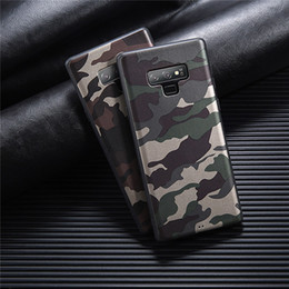 $enCountryForm.capitalKeyWord Australia - For Samsung S8 S9 S10+ S10e Note 8 9 A50 A60 A70 case Fashion Army Green Camouflage Painted Soft TPU case