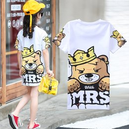 dress for children 12 years 2019 - 2019 Children T-Shirts Summer Tops Short Sleeve Girls Clothing Casual Baby Kids Tees Dress for Girls 8 12 Years Clothing