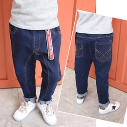 BaBy Boy korean style clothing online shopping - Baby Boys and childrens jeans Pants clothes In the spring and autumn South Korean style Radish jeans Stylish kids Clothing