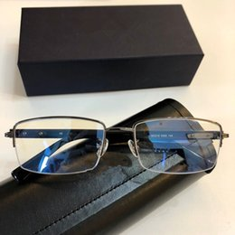 Plate clear online shopping - 40 New Luxury Popular Designer Optical Glasses Vintage Classic Plate Round Clear lens Frame Glasses Trend avant garde Eyewear Come with box