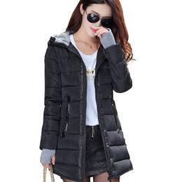 $enCountryForm.capitalKeyWord UK - Women 2019 Winter Hooded Warm Coat Plus Size Candy Color Cotton Padded Jacket Female Long Parka Womens Wadded Jaqueta Feminina