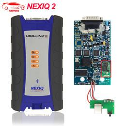 Auto Connectors Australia - Nexiq 2 USB Link Auto Heavy Duty Truck Diagnostic Tool Nexiq2 Bluetooth USB NEXIQ USB Link Better Than DPA5 Diesel Scanner