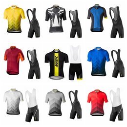 MAVIC team Cycling Short Sleeves jersey (bib) shorts sets Cycling Clothes  Bike Wear custom made Comfortable Breathable shirt 012531F ad55db4b8