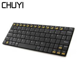 $enCountryForm.capitalKeyWord Australia - Bluetooth Wireless Keyboard Ergonomic Ultra Thin Mini Computer Gaming BT Keyboards For PC Laptop Desktop Notebook