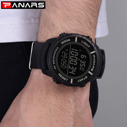 Discount counter watches - Sport Watch Men Fashion Casual Round Running Step Counter Men's Sports Electronic Wrist Watch Buckle Glass New Relo