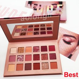 Pigmented eye shadow online shopping - Beauty New NUDE eye shadow palette makeup Colors eyeshadow matte shimmer Eyeshadow highly pigmented shades Best quality palette