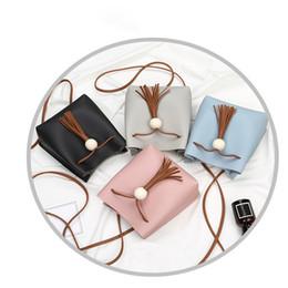 $enCountryForm.capitalKeyWord Canada - Cheap Fashion Women Tassels Bucket Bag Crossbody Bag Coin handbag Phone Bag handbag for women2018 fashion casual shoulder bags 0814