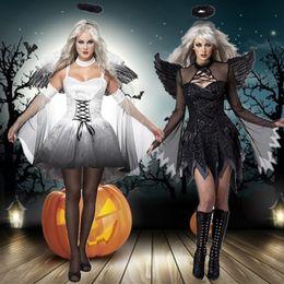 $enCountryForm.capitalKeyWord Australia - 2019 new Halloween COS costume angel cosplay role-playing demon costume witch costume with angel wings goddess