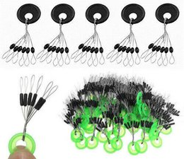 $enCountryForm.capitalKeyWord Australia - 500Pcs 6 in 1 Rubber Fishing Float Bobber Line Stopper Fish Angling Tackle