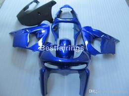 $enCountryForm.capitalKeyWord NZ - Free customize plastic fairing kit for Kawasaki Ninja ZX9R 98 99 blue black bodywork fairings set ZX9R 1998 1999 YW19