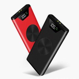 Xiaomi Mah Power Bank Australia - 30000 mAh Wireless Large Capacity Fashion Powerbank New Power Bank Charger External Battery for Xiaomi MI iPhone Samsung Note8