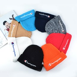 $enCountryForm.capitalKeyWord Australia - C Letters Embroidered Knitted Hats Women Men Winter Knitted Woolen Hat Fashion Outdoor Street Caps 8styles RRA1814