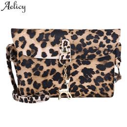 Aelicy Women Messenger bag Leopard Print Zipper luxury handbags women bags  designer shoulder bag bags for 0d9c70d94285e