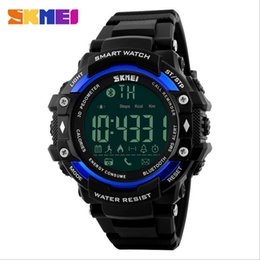 Lighting Calendar NZ - SKMEI Men Outdoor Sport Watch Digital Bluetooth Back Light Chronograph Alarm Complete Calendar Fitness Tracker 50M Waterproof