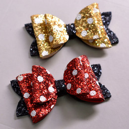 Hair Clip For Kids Barrette Australia - Best New Cute bow Children paillette Hairpins Girls Kids Hair Clips Bows Barrettes Hairpins Accessories For Children Headdress Headwear