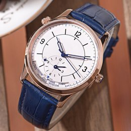 $enCountryForm.capitalKeyWord Australia - 2019 Mens Watch Automatic Mechanical Movement Mineral Strengthened Glass Super Waterproof Casual Leather Strap with Watch Box Luxury watch