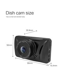 dvr cars Canada - 3-inch screen HD LCD display wifi automobile car data recorder mini car automobile data recorder Car Video Camera Recoder Black Box DVR