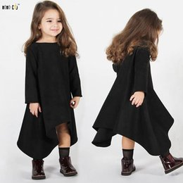 $enCountryForm.capitalKeyWord Australia - Children Girls Dress Kids Clothes Spring Autumn Casual Irregular Vacation Beach Dresses Clothing Girl 3 4 5 6 7 8 Years MX190724