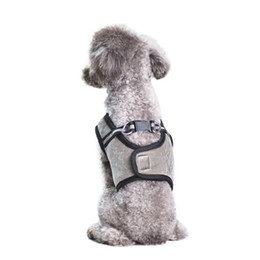 Chest Clothes UK - Summer Pet Vest Harness With Nylon Clasp Dog Chest Strap For Outdoor Walking Vest Pet Clothes
