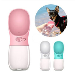 $enCountryForm.capitalKeyWord Australia - Portable Pet Dog Water Bottle For Small Large Dogs Travel Puppy Cat Drinking Bowl Outdoor Pet Water Dispenser Feeder Pet Product
