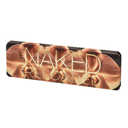 Makeup Eyeshadow Naked Palette UK - 2019 Naked Reloaded Eyeshadow Palette beauty makeup matte 12 color eye shadow multi pearlescent eye shadow plate make-up tray