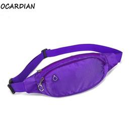 Discount money belt men - OCARDIAN Waist Pack Waist Bag Waterproof Nylon Sport 2019 Running Fanny Women Pack Pouch Belt Men Money Belt Bag Dropshi