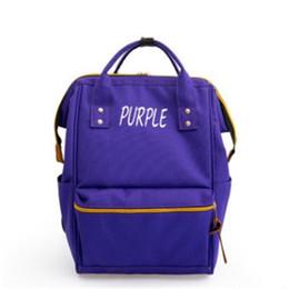 Men bag backpack shop online shopping - High Quality Luxury Womens Designer Canvas Backpack Shoulder Bag Newest Fashion Backpacks Big Capacity Shopping Bags Colors Avaliable Hot