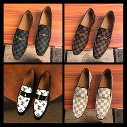 Vente en gros 2020 Top Quality Men Loafers Chaussures en cuir véritable pour hommes, hommes