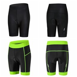 Wholesale 2019 Cycling shorts Bike Short Padded pro Team MTB bicycle Bottom WOMEN Road mountain shorts Breathable Short Tights Breathable