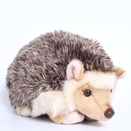 stuffed animal stuffing NZ - The Simulation Of The Hedgehog Animal Doll Plush Toys For Christmas Gift 2019 High Quality Duck Stuffed Animals Bear J190718