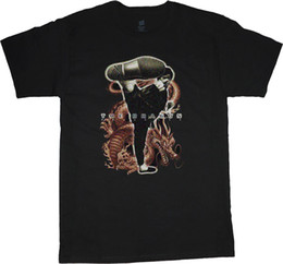 Discount lees fashion - Bruce Lee t-shirt for men the dragon design tee shirt men's black tshirt Men Women Unisex Fashion tshirt Free Shipp