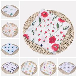 $enCountryForm.capitalKeyWord Australia - Baby Blankets Cotton Flamingo Rose Fruits Print Muslin Baby Blankets Bedding Infant Swaddle Wrap Towel For Baby Swaddle Blanket Gift RRA1747