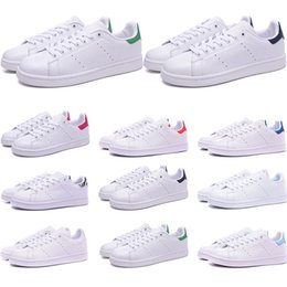 $enCountryForm.capitalKeyWord Australia - 2019 Smith shoes for mens womens Stan designer black white red blue silver pink smith best sneakers Casual shoes size 36-45