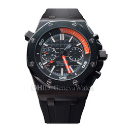 Designer Crystals Australia - Luxury Watch Mens Designer Watches Sapphire Crystal 316L Stainless Steel Case Automatic Watches Black Rubber Strap Mechanical Wristwatches