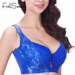 Wholesale plus size bras for sale - Group buy Sexy women bra plus size D E cup push up bra brassiere side adjustment underwear On Self Adhesive Back fly Bra Strapless