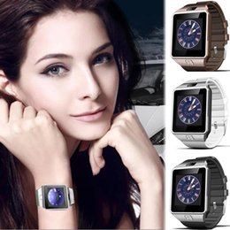 Wristwatch Sim Card Australia - Smart Watch DZ09 Smartwatch Digital Sport Phone Wrist Watch For Apple iPhone Android Men Women Electronics Wristwatch SIM Card
