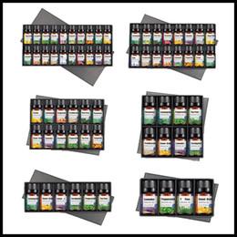 BOX cadeau huiles essentielles pour diffuseurs d'aromathérapie huiles essentielles pures massage corporel biologique Relax 10 ml huile de parfum soins de la peau Drop Ship en Solde