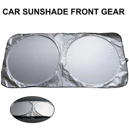 sun visors glasses NZ - Car Front Rear Windshield Sunshade Dashboard Cover Visor Glass Front Window Sun Shade Foldable Cover Universal Car Accessories