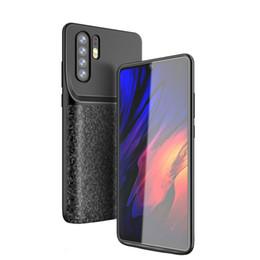 Banking Case Australia - For Huawei P30 Pro Lite Wireless Charging Case Portable External Battery Backup 4700mAh Cover Slim Power Bank