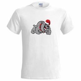 Dog christmas presents online shopping - Bulldog Santa Hat Christmas Design MENS T SHIRT Dog Dogs British Present Pet