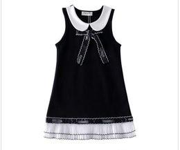 Silk chiffon wedding online shopping - spring brand dress girls luxury organza vest dress princess beautiful wedding dress cm cm