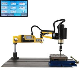 $enCountryForm.capitalKeyWord Canada - New CE 220V M3-M12 Vertical Type Electric Tapping Machine Electric Tapper Tapping Tool Machine-working Taps Threading Machine