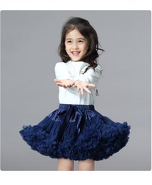 ballerina tutu skirts NZ - Ins children's dresses gauze skirts Girls 'princess skirts Children's Tutu skirts 7 Colors Ballerina Pettiskirt Layer Fluffy Princess Dress