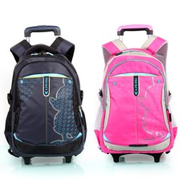 China Travel Luggage Child School Bag Students Rolling Suitcase Kids Backpack Rainproof Cover Climb The Stairs Boy Girl Trolley Case cheap stairs cover suppliers