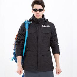$enCountryForm.capitalKeyWord Australia - 2019 New Gamakatsu Man Fishing Clothing Thick Men Male Winter Jacket Warm Autumn Winter Waterproof Hiking Coat Two Piece Suits