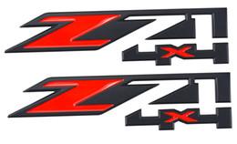 Chevy Wholesale Australia - Free shipping Aimoll 2pcs Z71 4x4 Emblems Badge Sticker for GMC Chevy Silverado Sierra Tahoe Suburban New 1500 2500 3500 Decal